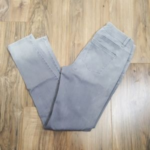 White House Black Market Grey Skinny Jeans